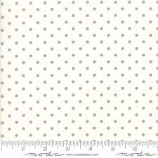 MODA Fabric ~ POETRY ~ by 3 Sister's (44137 11) Porcelain - by the 1/2 yd