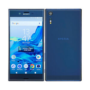 Sony Xperia XZ F8331 Forest Blue  Android Cellular Mobile Phone 32GB Unlocked