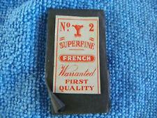 Ancien étui Aiguilles Y couture mercerie Needle Sewing Nadeln sharp