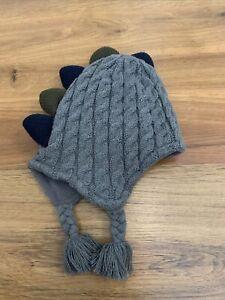 Baby Winter Hat 6-12 Months Dinosaur