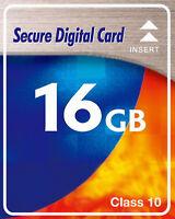 SD Karte 16 GB Class 10 16GB SDHC Speicherkarte für Fujifilm FinePix X100