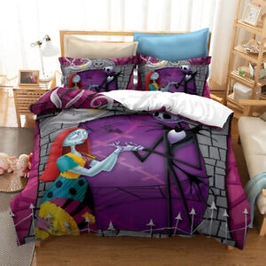 The nightmare before Christmas Pillowcase Covers Quilt Single Double Queen King