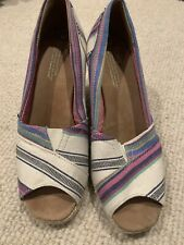 Toms Womens Wedges Size 9