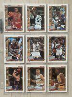 1992-93 NBA Hoops Supreme Court Insert Set Magic Pippen Malone Barkley No MJ