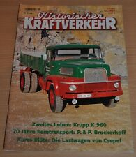 Historischer Kraftverkehr HIK 1/05 Krupp K 960 Brockerhoff Csepel