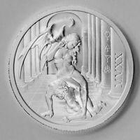 2020 Temptation of the Succubus - BU Finish 2oz .999 Fine Silver Presale