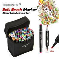 PROFESSIONAL & PROFICIENT Sketch Soft Brush Art Markers 10,20,30,40,60,80 CT!