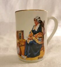Vintage 1982 Norman Rockwell Museum Memories Collectible Cup Mug Authentic