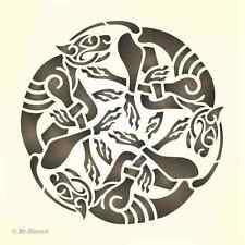 Maler Wandschablone Wandschablonen  Schablone Celtic 1