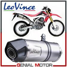 Leovince Auspuff Lv One Evo Stahl Honda Crf 250 L 2012 > 2013