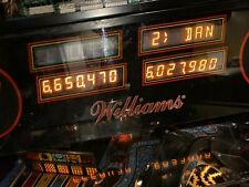 Williams System 11 pinball Display See Details