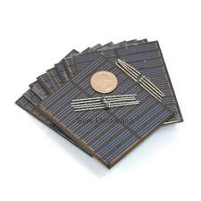 10 Piezas 10x 5v, 150ma 750mw 7.5 Watts 7,5 W en total Panel Solar Batería Para Cargador
