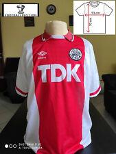Shirt football home AJAX 1988 - 1990 TDK original umbro L rare