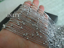 GNAYY 5meter stainless steel Fashion Ball chain Jewelry Finding Women Chain DIY