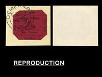 British Guiana 1856  1c Black-Magenta, Over Fragment SG 23 $9,500,000,Copy
