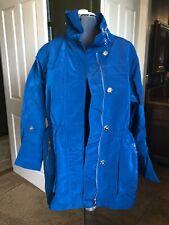 Women's Jacket by Casablanca-Light Weight/Lined/Pockets/Hood /Long-Choose 1 of 2!