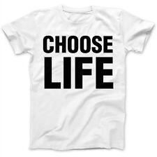 Choose Life 80's Iconic Music Costume Party Dress Up Fun Retro Wham T-Shirt