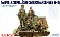 Dragon 1/35 6113 WWII German 3rd Fallschirmjager Division (Ardennes 1944) 4 Figs