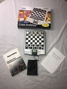RYO Chess Academy Talking Computer Chess Teaching System *Missing Two Pieces*