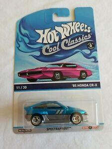 2014 Hot Wheels Cool Classics 85 HONDA CR-X Turquoise 11/30 EXCELLENT CARD
