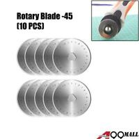 10pcs x A99 Rotary Cutter Refill Blades 45mm Quilters Sewing Fabric Cutting Tool