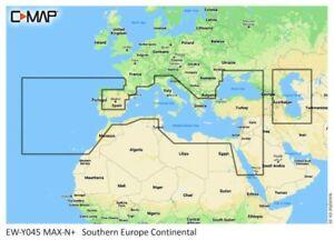 C-Map Max N+ M-EM-Y045 Continental Southern Europe Digitale Seekarte Mittelmeer