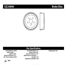 Brake Drum fits 2004-2015 Toyota Tacoma Sienna  CENTRIC PARTS