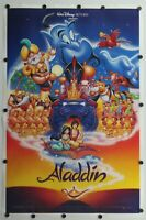 "Aladdin 1992 Disney Double Sided Original Movie Poster 27"" x 41"""