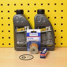 Suzuki UH 125 Burgman Serviceset Bj. 02-14 Öl Original Ölfilter Zündkerze 10w40