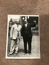 KNUTE ROCKNE Notre Dame Type 1 1930 Original Press Photo Graded 9.5 MINT w/COA