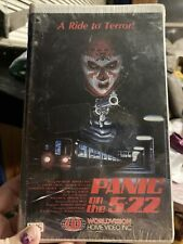 VINTAGE Panic On The 5:22 VHS Tape 1986 TV Horror Film Laurence Luckinbill RARE