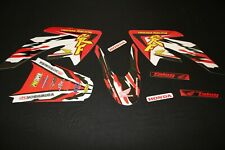 HONDA CRF70- CRF80- CRF100 RETRO MX GRAPHICS KIT DECALS KIT STICKER KIT STICKERS