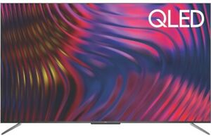 """New TCL 50C715 50"""" 4K UHD QLED Smart Android TV NETFLIX  Freeview Plus"""
