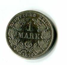 1 Mark Deutsches Reich Kaiserreich 1874 D Silber M_146