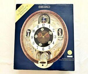 SEIKO 2006 Collector's Edition Melodies in Motion clock, Swarovski Crystals