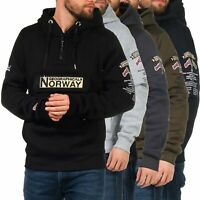 Geographical Norway Herren Hoodie Hoody Sweatshirt Pullover Sweat Shirt Gymclass