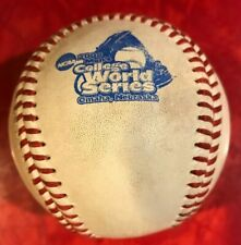 2008 COLLEGE WORLD SERIES  GAME USED OFFICIAL RAWLINGS BASEBALL
