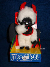MONCHHICHI Collection Doll 20 cm DEVIL BOY White Hair NEW Limited Edition RARE