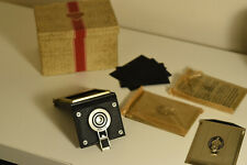 Rolleiflex Plate Film Kit Cut Film Plate Adapter & Glass Back