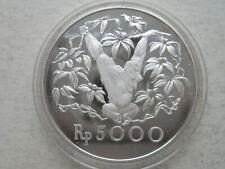Indonesia, 5000 Rupiah, 1974, Orangutan, Silver Coin PROOF