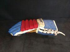 Cooper Hockey LaCrosse Glove Armadillo Thumb Leather Palm Vintage Left single