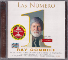 rare CD & DVD PROMO ONLY Ray Conniff BESAME MUCHO brasil NEW YORK tema de lara