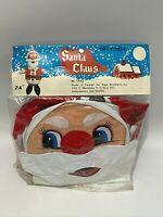 "Vintage Inflatable Santa Claus Christmas Decoration 24"" Kipp Brothers Taiwan NEW"