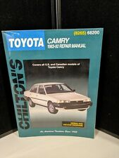 Chilton Repair Manual Toyota Camry 1983-92 #8265 / 68200