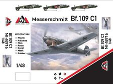AMG Models - 48716 - Messerschmitt Bf.109 C1 - 1:48   *** NEW ***