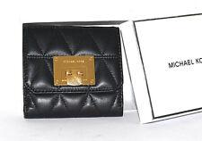 MICHAEL KORS Geldbörse Neu Vivianne 195€ black schwarz Leder Wallet Geldbeutel