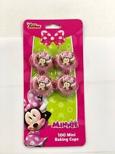 Disney Minnie Mouse Mini Cupcake Liners 100 Piece Count Paper Cup