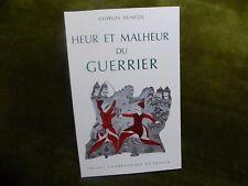 HEUR ET MALHEUR DU GUERRIER Georges Dumézil -