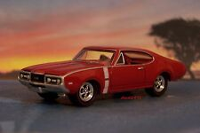 1968 68 Olds Oldsmobile Cutlass 442 Collectible 1/64 Scale Model - Diorama