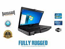 Panasonic Cf-53 Core I5 Toughbook Laptop 4 Gb 320 Gb Win 10 Rugged